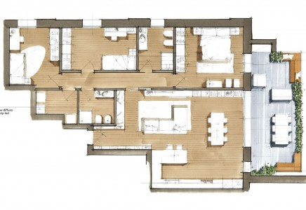 Image for TV 4273 – Vendesi appartamento in Classe A+  con terrazza abitabile